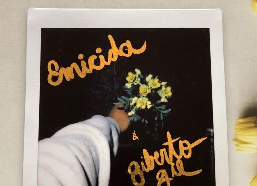 E tudo pra ontem_Emicida & Gilberto Gil_Cover