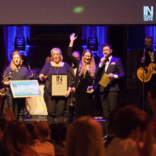Sony Music vann Bästa Kampanj på InHousegalan 2017