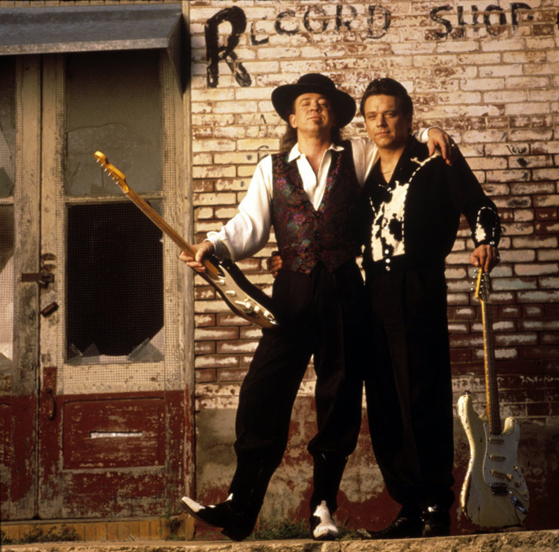 Stevie Ray Vaughan and Jimmie Vaughan