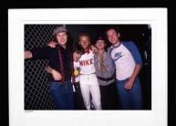 Stevie Ray Vaughan, John McEnroe, Tommy Shannon & Vitas Gerulaitis