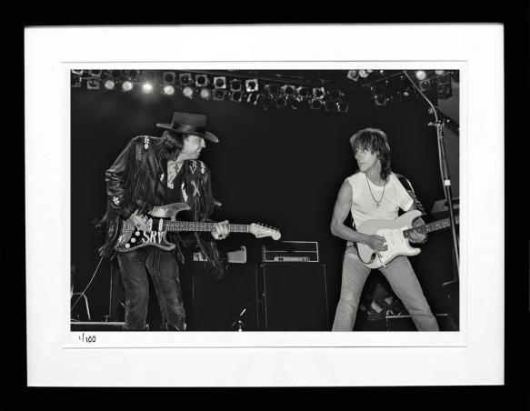 Stevie Ray Vaughan & Jeff Beck
