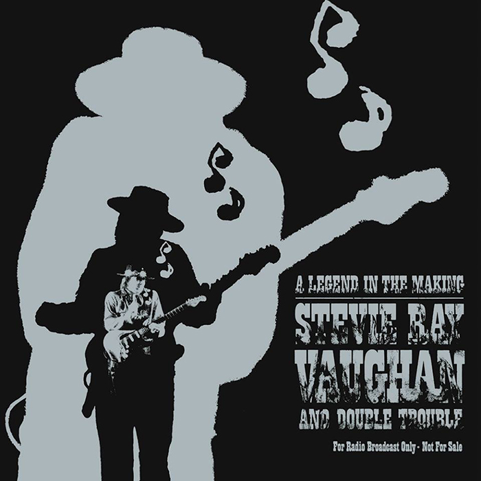 "Stevie Ray Vaughan & Double Trouble - A Legend in the Making - 12"" 2LP White/Grey Vinyl"