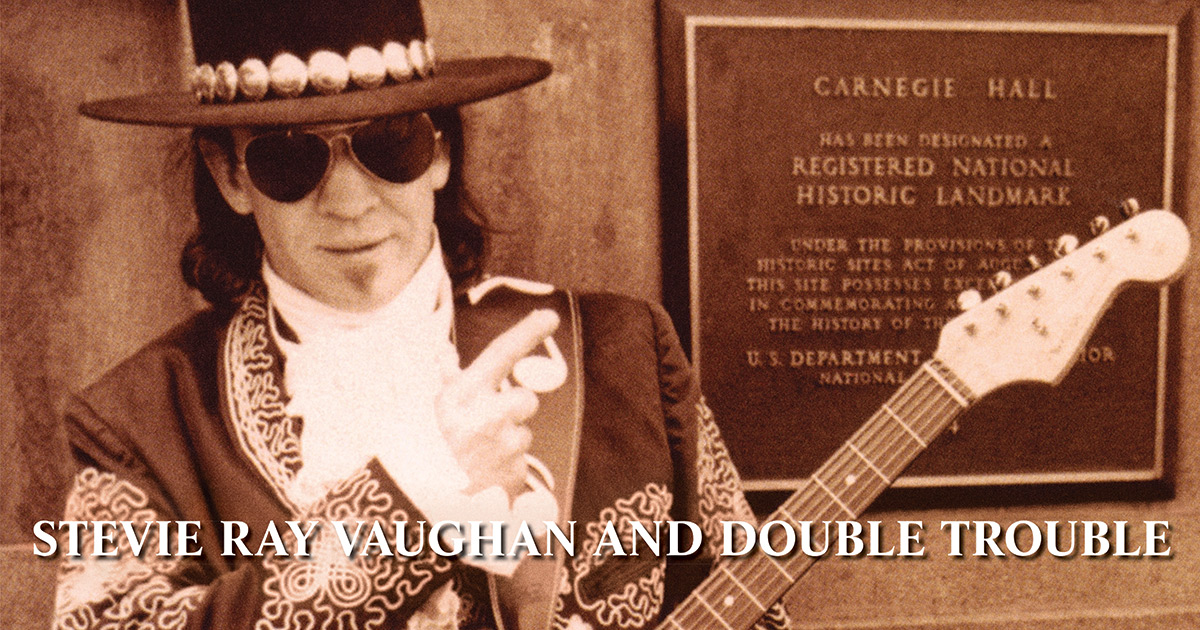 Srv Amp Double Trouble Live At Carnegie Hall 2lp Vinyl