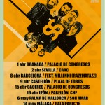cartel supersubmarina gira 2015