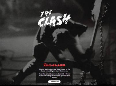 The Clash Spotify Radio Show