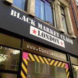Black Market Clash - L'exposition