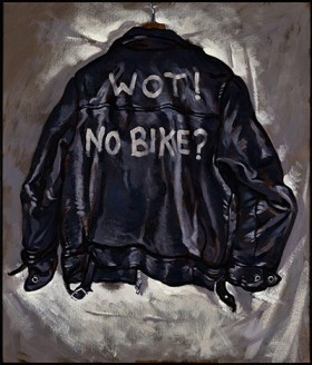 Wot No Bike? New Paintings by Paul Simonon opens at the ICA
