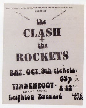 The Clash & The Rockets - 9th October 1976