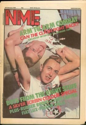 NME - February 1984