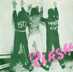 White Riot UK Picture Sleeve