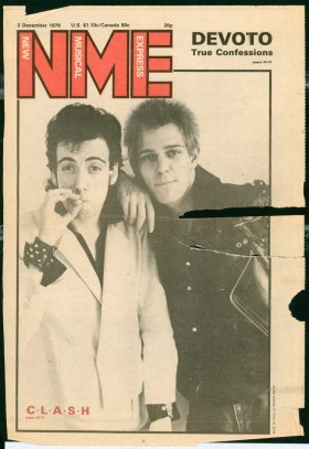 NME Cover - December 1978