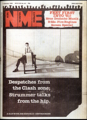 NME Cover, 3rd January 1981