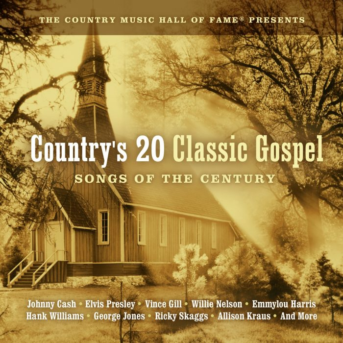 Country's 20 Classic Gospel Songs Of The Century album cover