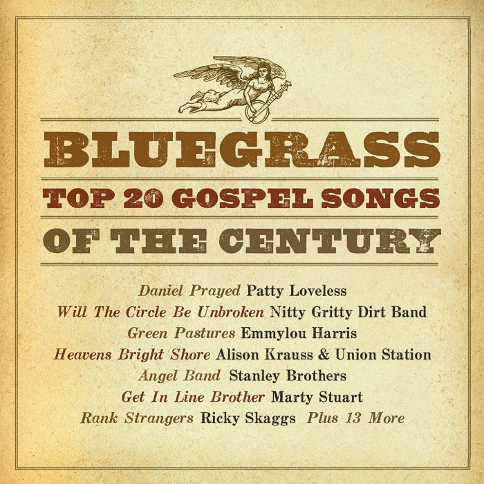 Bluegrass Top 20 Gospel Songs Of The Century album cover