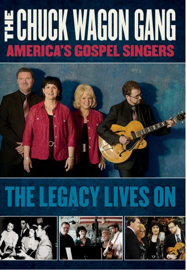 America's Gospel Singers The Legacy Lives On album cover
