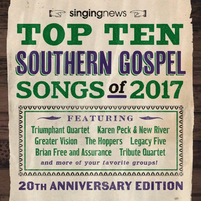 Singing News Top 10 2017 album cover