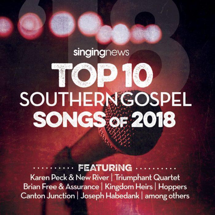 Singing News Top 10 2018 album cover