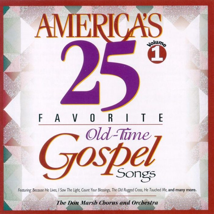 America's 25 Fav Gospel Vol 1 album cover