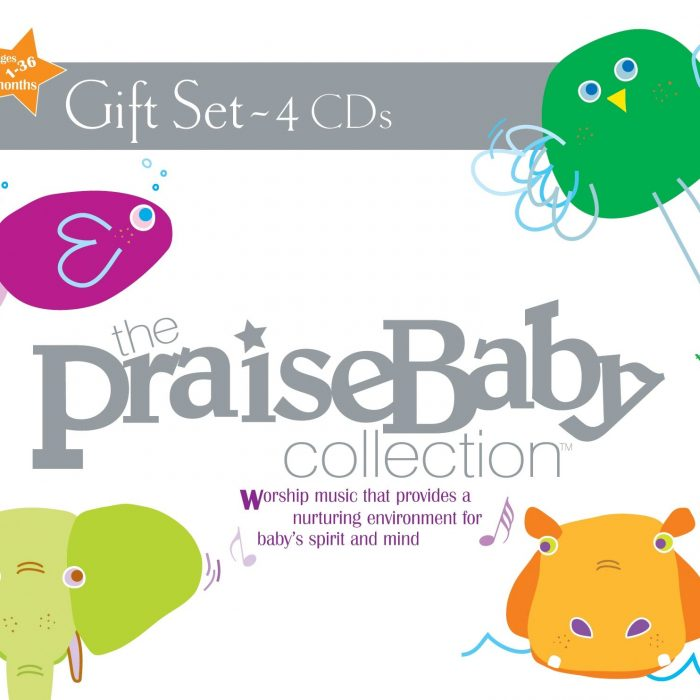 The Praise Baby Collection Gift Set 4-Cd album cover
