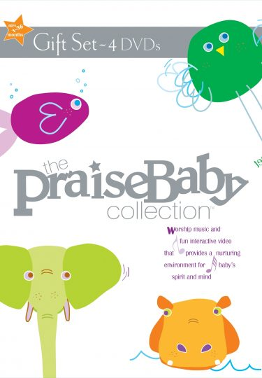 The Praise Baby Collection Gift Set 4-Pk Dvd album cover