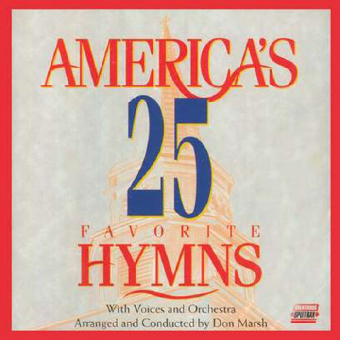 America's 25 Fav Hymns Vol 1 – Split album cover