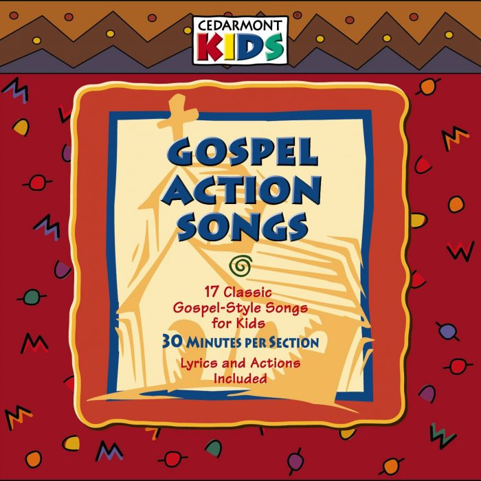 Gospel Action Songs album cover