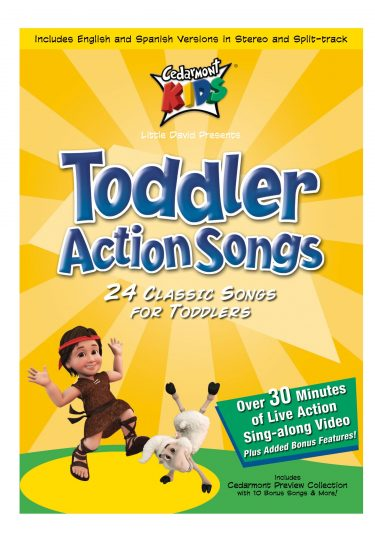 Toddler Action Songs album cover