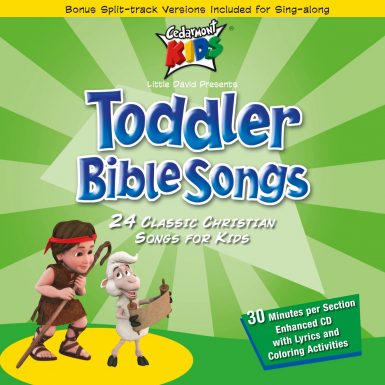 Toddler Bible Songs album cover
