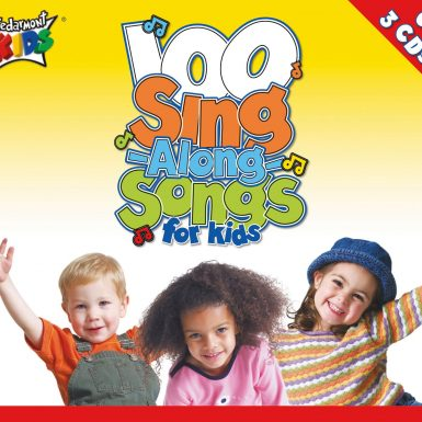 100 Singalong Songs For Kids Cd 3-Pack album cover