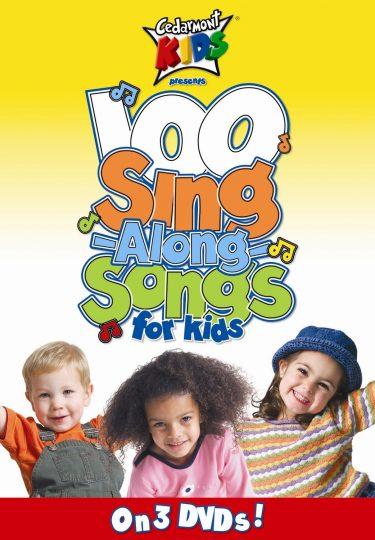 100 Singalong Songs For Kids Dvd 3-Pack album cover