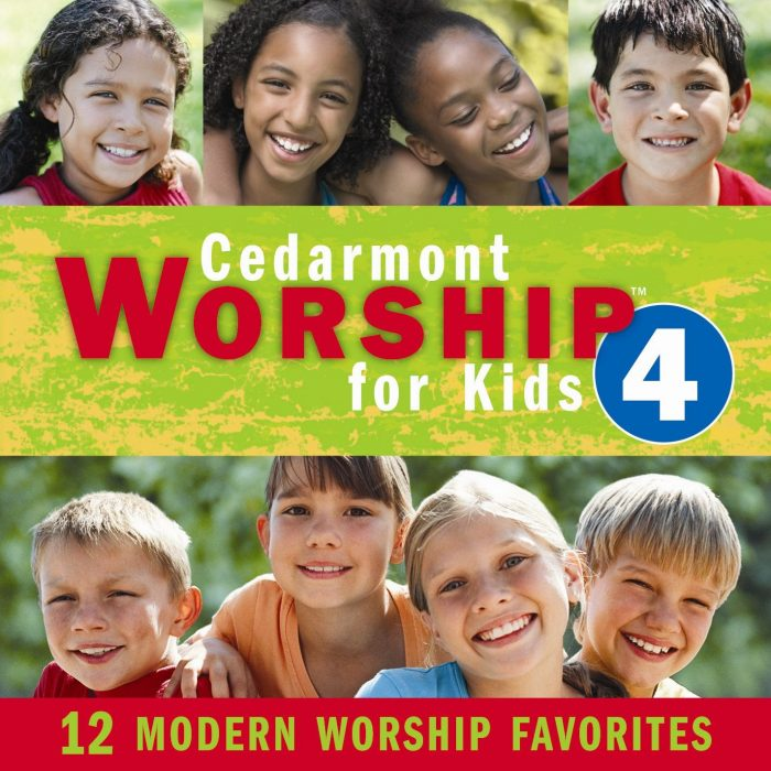 Cedarmont Worship For Kids Split Track V4 album cover