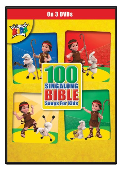 100 Singalong Bible Songs For Kids album cover