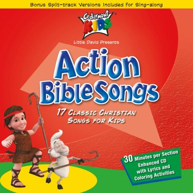 Action Bible Songs album cover