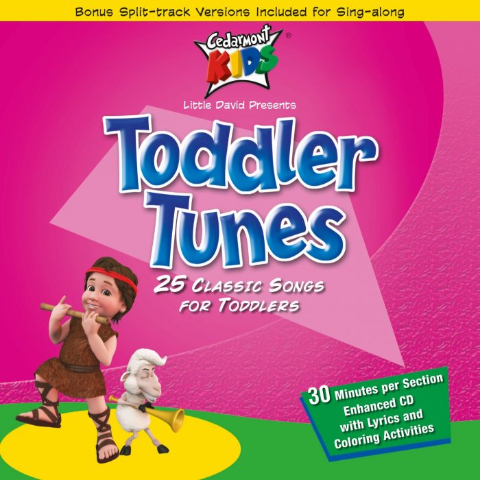 Toddler Tunes album cover