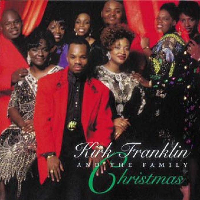 Christmas album cover