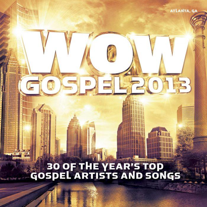 WoW Gospel 2013 album cover