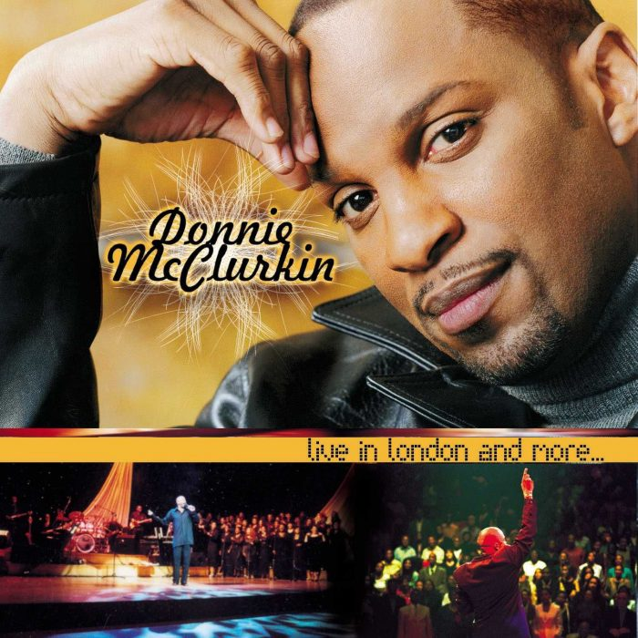 Live In London Donnie Mcclurkin album cover