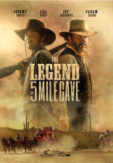 Legend Of 5 Mile Cave DVD cover