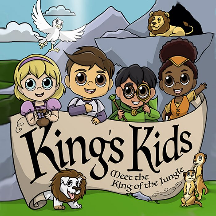 King's Kids: Meet The King of the Jungle album cover