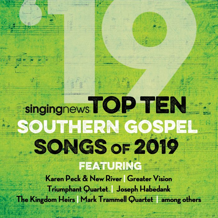 Singing News Top 10 Southern Gospel Songs of 2019 album cover