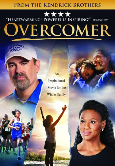 Overcomer DVD cover