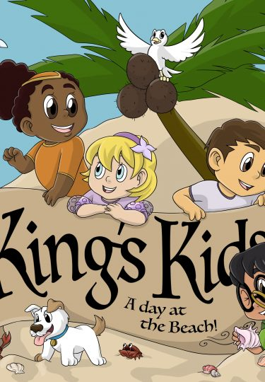 King's Kids – A Day At The Beach DVD cover