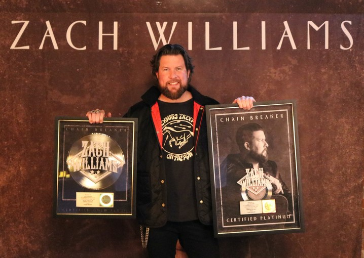 Zach Williams Celebrates Platinum And Gold Certifications thumbnail