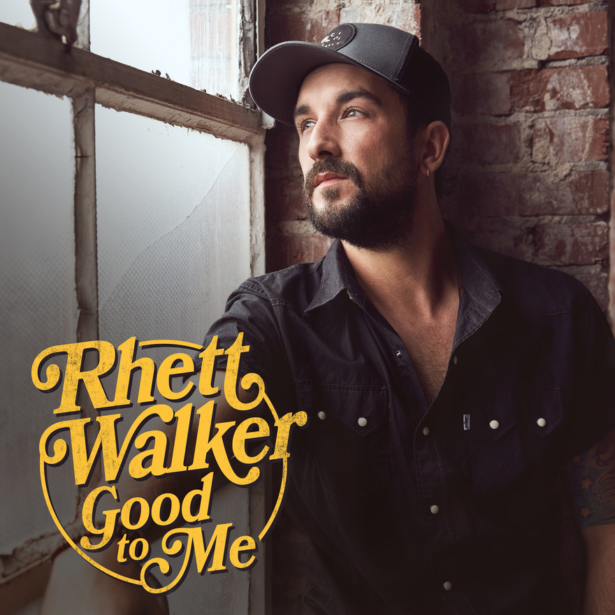 "RHETT WALKER RELEASES HIS THIRD CAREER ALBUM TODAY; Good to Me Features ""Believer,"" Walker's Most Successful Career Radio Single thumbnail"