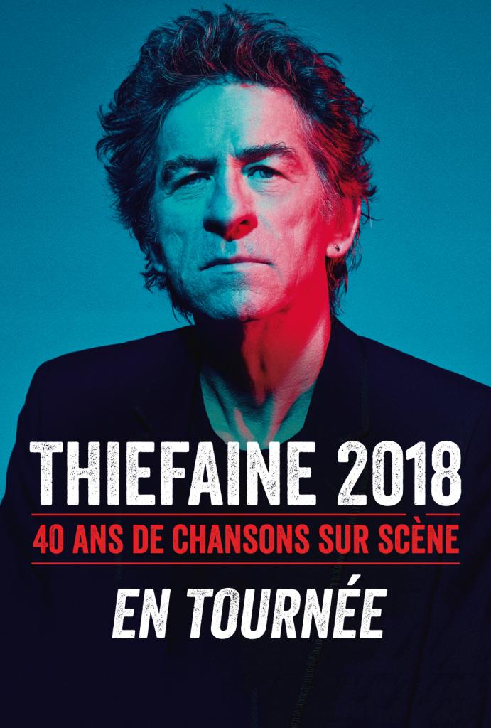 THIEFAINE 2018 – 40 ans de chansons