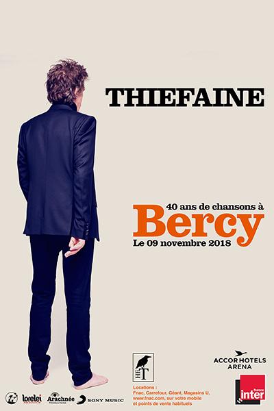 Thiefaine à Bercy