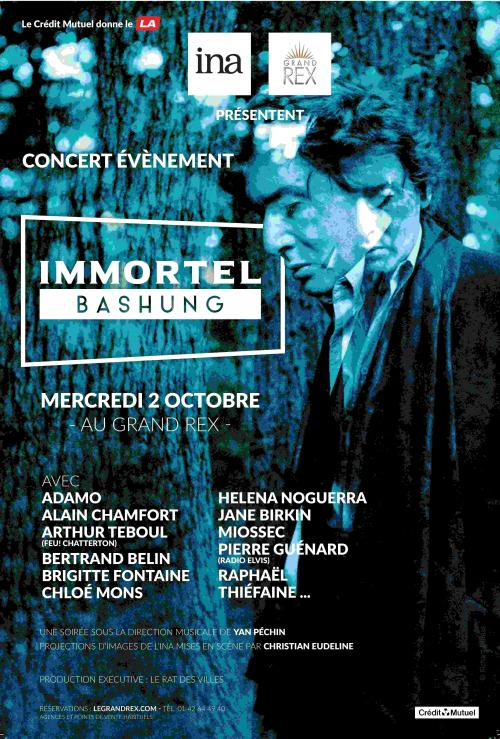 Immortel Bashung au Grand Rex