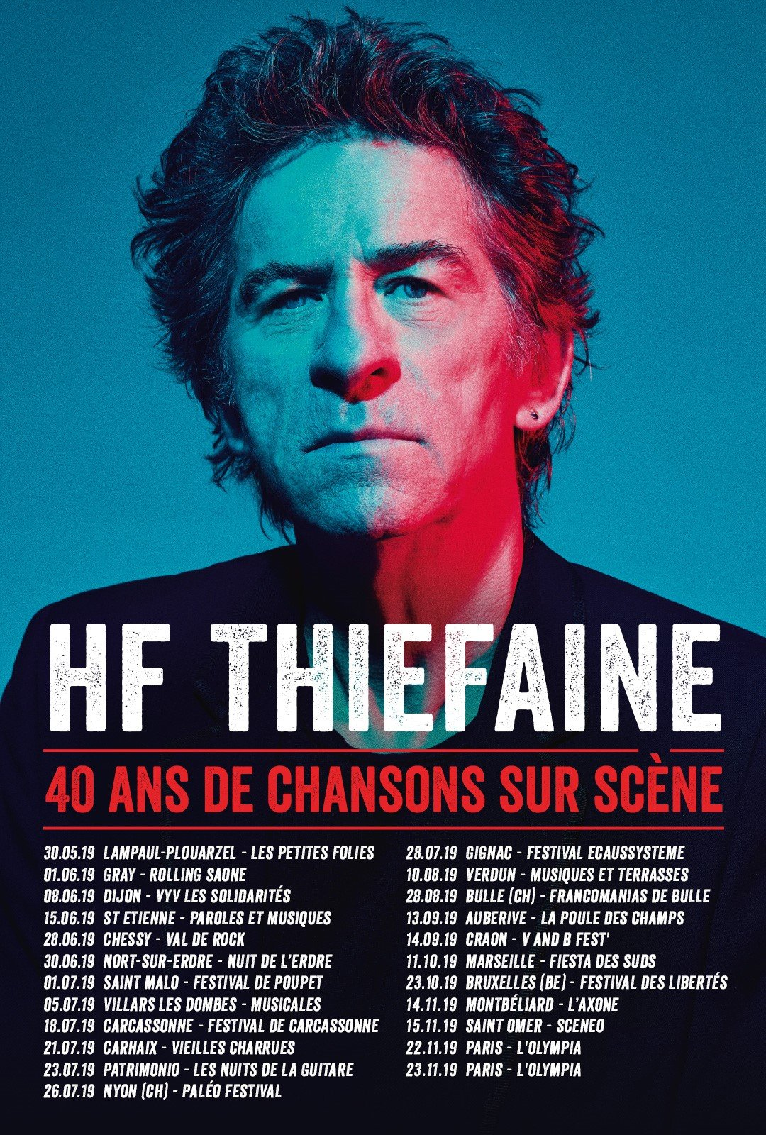 Thiefaine dates tournée