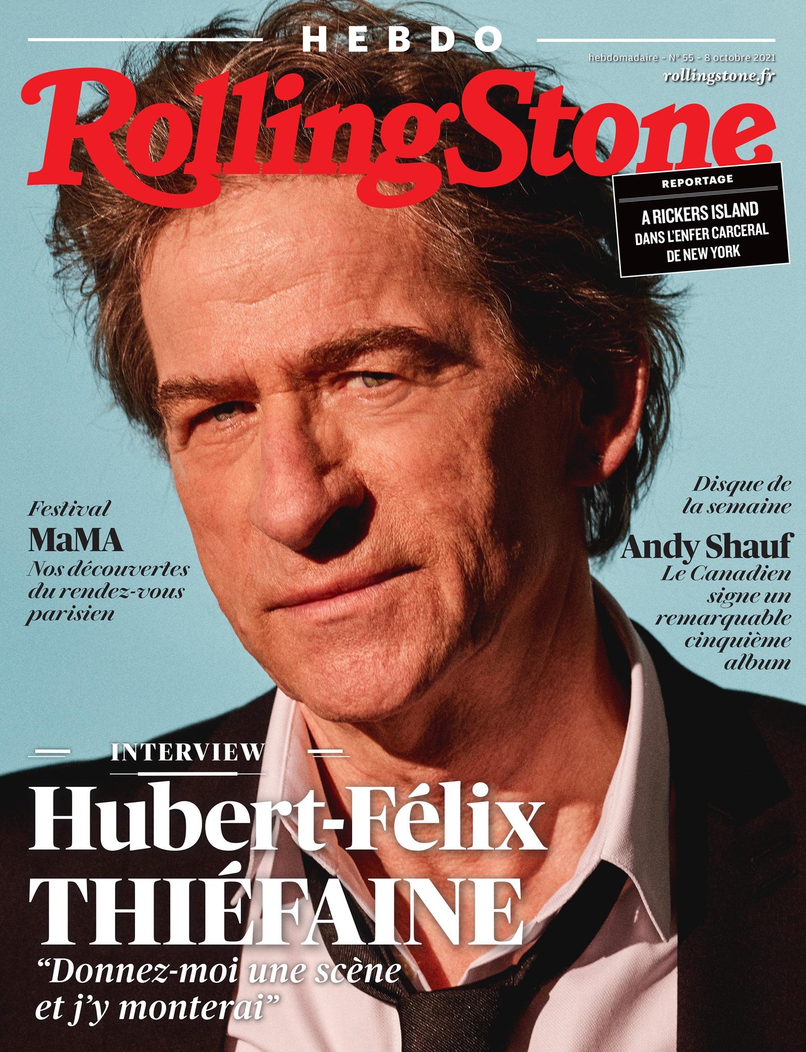HF. Thiéfaine – Rolling stone magasine & Francofans
