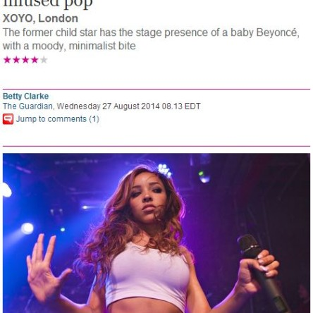 Tinashe Review